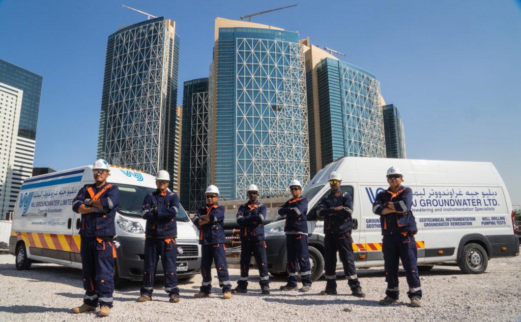 The WJ Qatar Service Crew