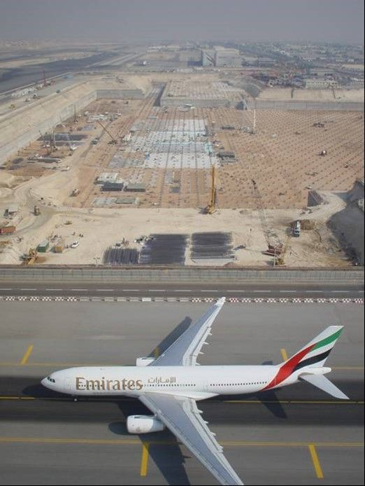 Dubai Internationial Airport Terminal 3 a