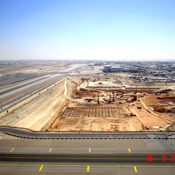Dubai International Airport Terminal 3 and Concourses
